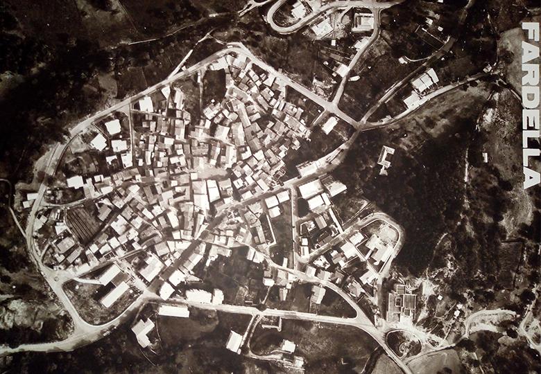 Mappa Fardella Aerea Storica